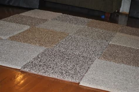 duct rug she spends 30 on carpet squares and duct what she creates is totally amazing