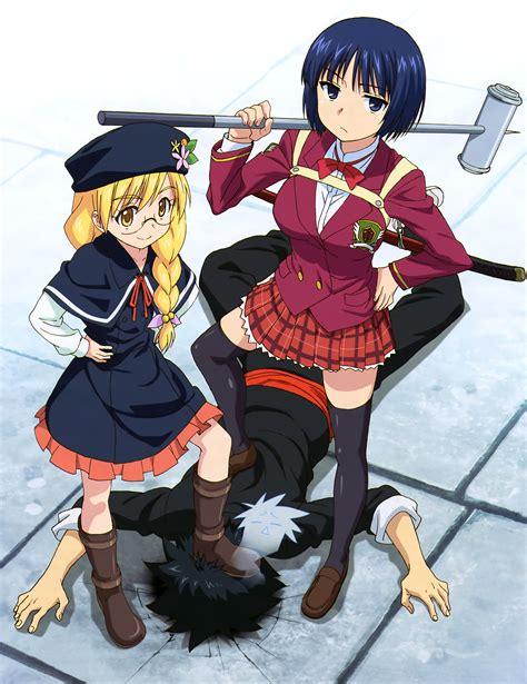 Anime U Q Holder by Uq Holder Image 2207785 Zerochan Anime Image Board