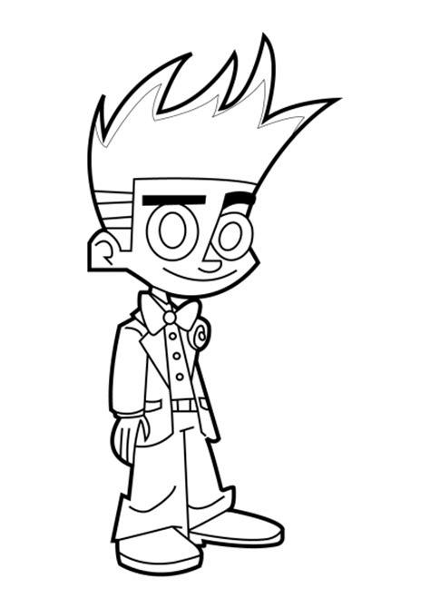 printable coloring pages johnny test johnny test coloring book coloring pages