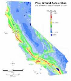 california geological survey maps psha california geological survey probablistic seismic