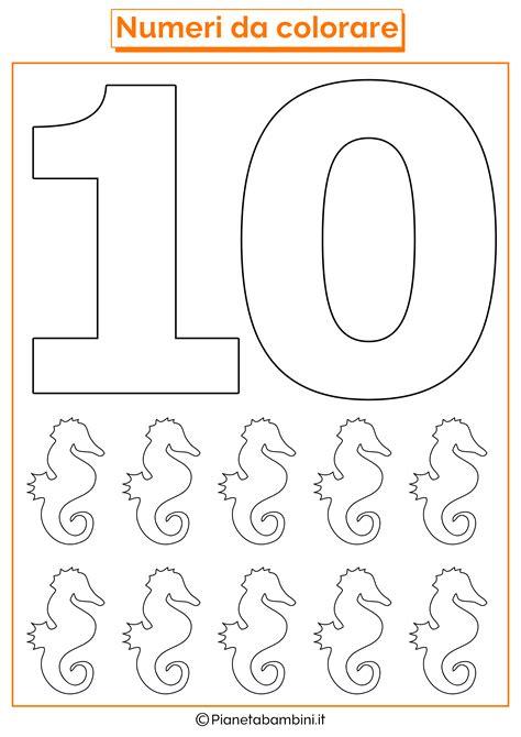 lade bimbo numero di lade per abbronzarsi numero 10 da colorare