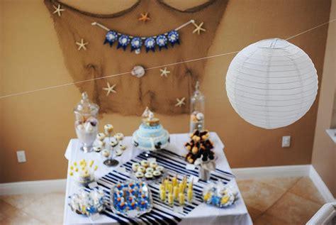 baby shower nautical theme decorations kara s ideas nautical baby shower sea