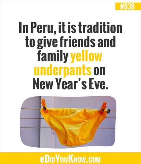 new year traditions facts edidyouknow in peru it is tradition to give friends