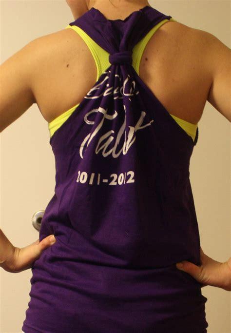 How To Make Tshirt diy racerback workout shirt no sew pandercraft