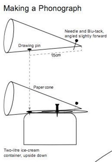 Paper Horn Template