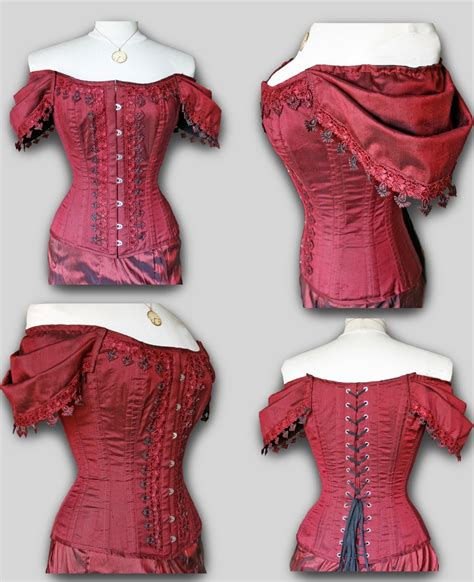sewing pattern victorian ruby high bustline victorian evening corset sewing pattern