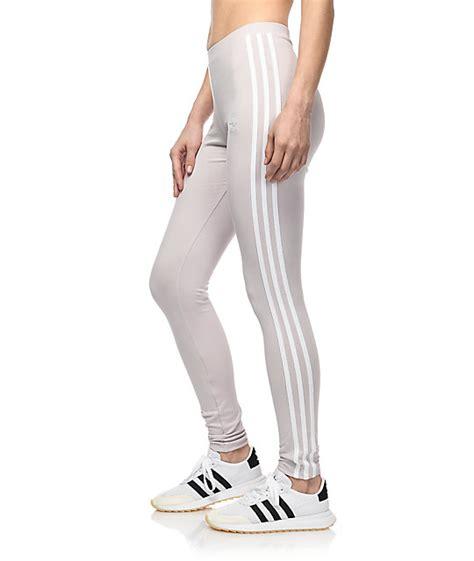 Legging Winter Stripe 3 7 adidas 3 stripe lavender zumiez