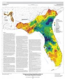 transmissivity of the floridan aquifer in florida