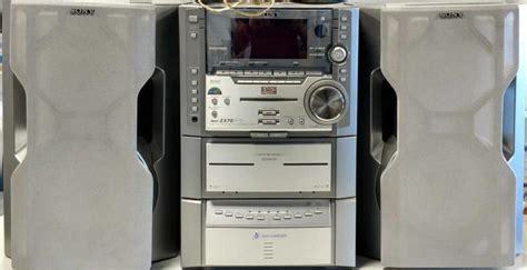dvd cassette player sony dvd cd cassette player