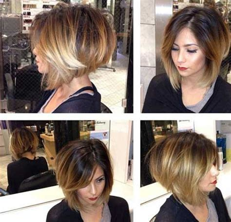 graduated bobs 2015 uneven bob hair style and shorts on pinterest