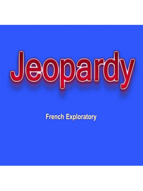 Blog Archives Technomemo Jeopardy Theme Song For Powerpoint