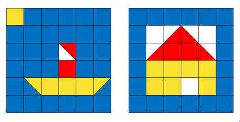 Mosaik Muster Vorlagen Ausdrucken Grundschulmaterial Grundschulmaterials Webseite