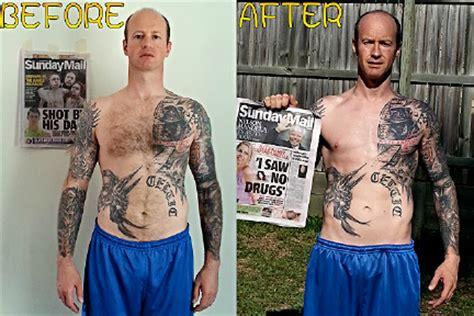 loss weight loss transformation contest burn