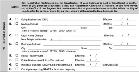 section 8 renewal 2017 business tax renewal instructions los angeles