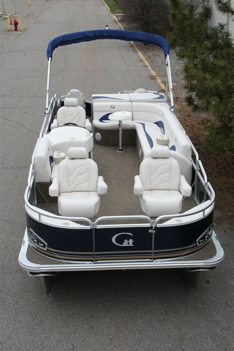 new boat chairs new 24 fish and fun grand island pontoon reclining