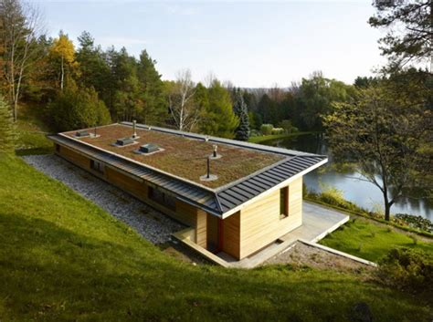 eco house designs waterfront eco cottage strikes a balance between beauty