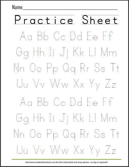 alphabet writing paper 25 best ideas about alphabet worksheets on
