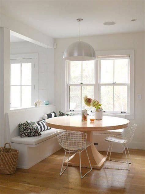 Kitchen Table Banquette Banquette Seating In The Kitchen Inspiration Roundup
