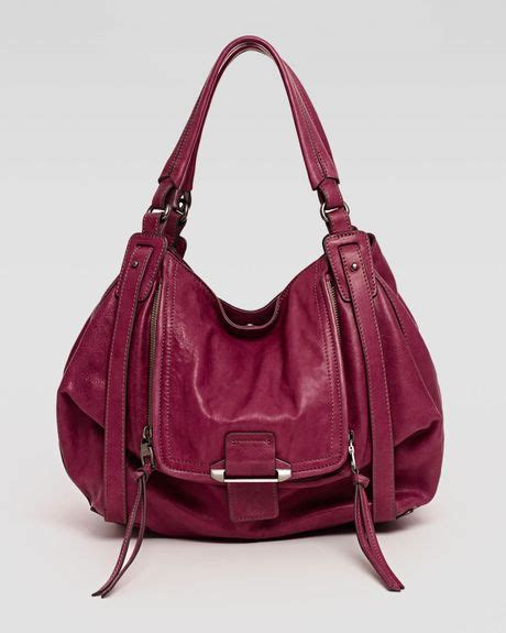Neiman Sale Continues With Goods From Marc Kooba Tracy by Kooba Jonnie Hobo Bag Wine In Wine Lyst