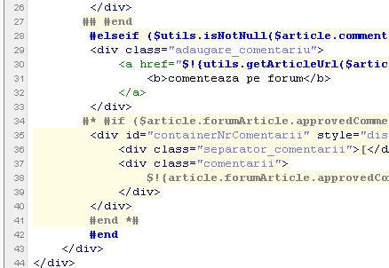 velocity template free velocity template syntax highlighting