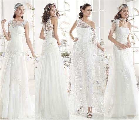imagenes de vestidos de novia hippie chic el hippie chic de las novias con vestidos ibicencos