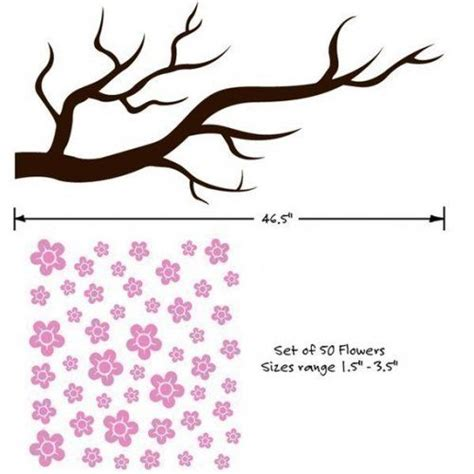 blossom template cherry blossom branch search cameo svg