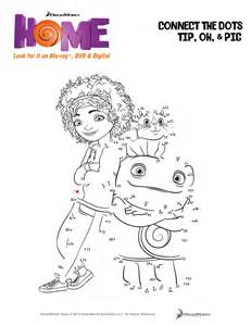 dreamworks home free printable connect the dots coloring