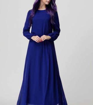 Gamis Import Murah Baju Gamis Biru Import 2016 Model Terbaru Jual Murah