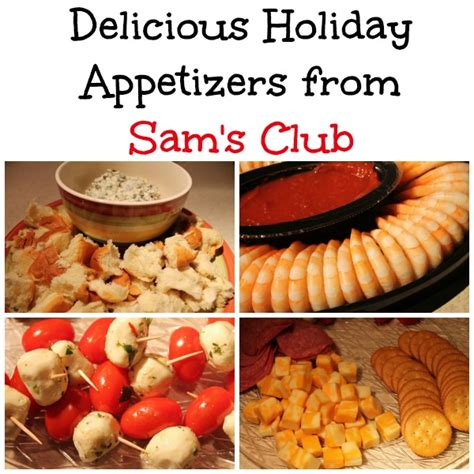 Can I Use My Sam S Club Gift Card At Walmart - delicious holiday appetizers from sam s club giveaway