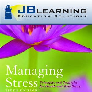 Pdf Managing Stress Principles Strategies Well Being managing stress principles and strategies for health and