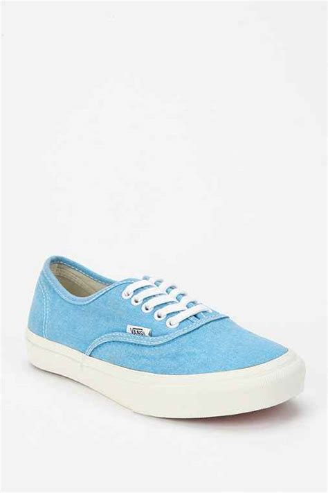 Vans Autentic Silence vans authentic washed canvas sneaker outfitters