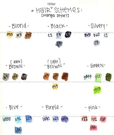 haor color generator haor color generator manga hair color scheme sugg s by