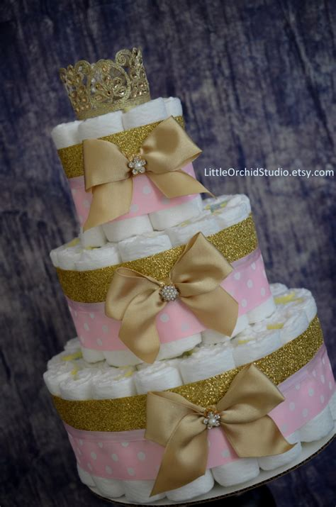 Pink And Gold Baby Shower by Pink And Gold Baby Shower Princess Cake Unique