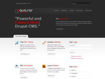 theme integration drupal 7 quasar drupal theme free premium drupal 7 theme