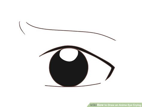 3 ways to draw anime eyes wikihow gallery how to draw crying eyes drawing art gallery