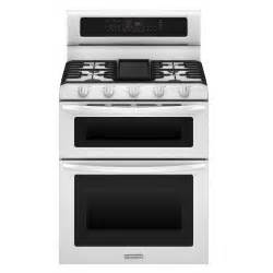 kitchenaid kgrs505xwh 6 cu ft oven gas range