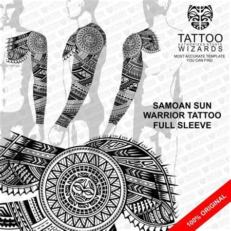 samoan warrior tattoo designs warrior sun vector template stencil