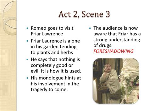 theme of romeo and juliet act 2 scene 3 romeo and juliet act 2 scenes 3 6 notes