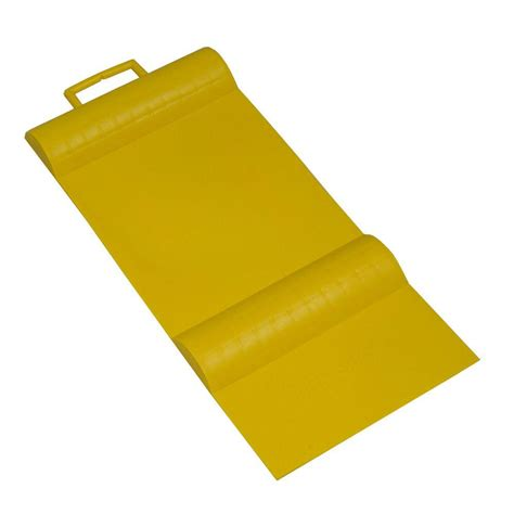 Parking Mats For Garage by Park Smart Yellow Parking Mat Guide 10001 The Home Depot