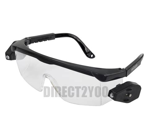 safety glasses for led lights safety glasses protective led rotating lights adjustable