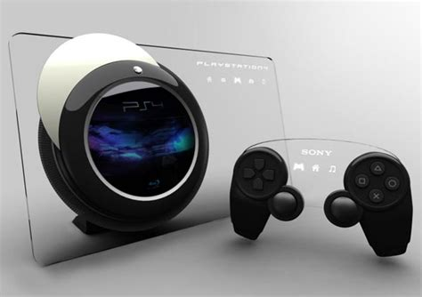 ps4 console sony ps4 console concept