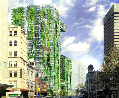 Vertical Garden Sydney Blanc Is Growing The World S Tallest Vertical