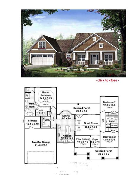craftsman cottage floor plans bungalows floor plans 171 home plans home design