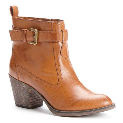 kohls boots for womens western ankle boots from kohl s