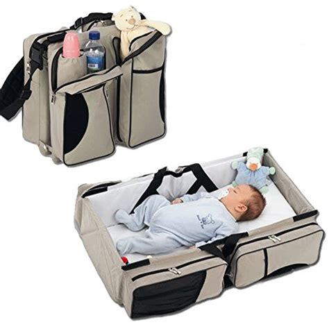 portable changing table diaper bag 3 in 1 baby travel bassinet diaper bag change