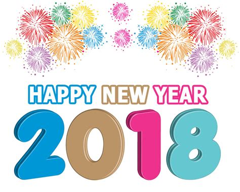 happy blessed new year 2018 free happy new year 2018 clipart images free clip banner