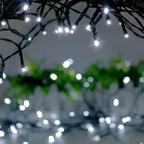 Frostfire Moonrazzle 50 Led Solar Fairy String Lights Frostfire Solar Lights