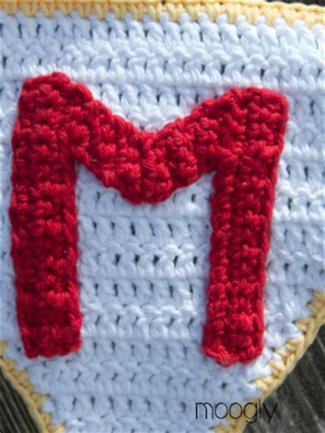 Free Pattern To Crochet Letters