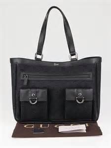 Gucci Pocket Tote Bag gucci black gg denim medium pocket tote bag yoogi