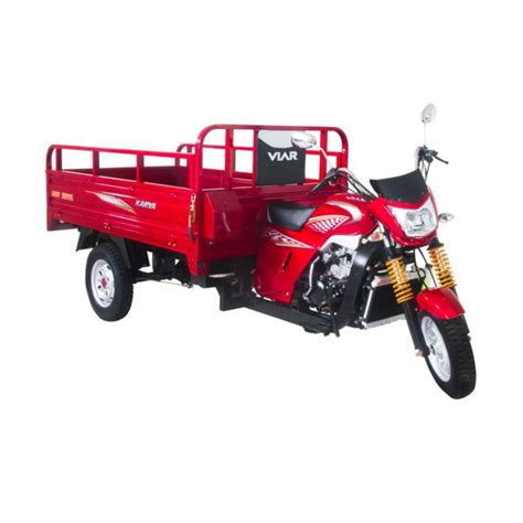 Viar Motor New Karya 200 L Merah Sepeda Motor Jatim Merah promo motor viar free voucher carrefour 1 5 juta blibli